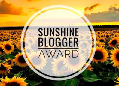 Image result for sunshine blog awards 2019